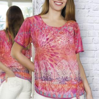 Bluse - Shirts - Kurzarm